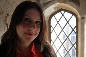 Dr Janina Ramirez at Berkeley Castle Medieval Kings