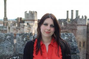 Dr Janina Ramirez at Berkeley Castle