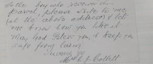 Canadian note found in pocket  Martel